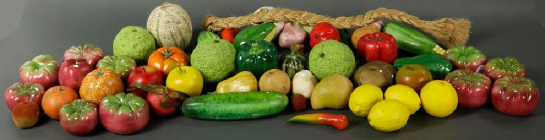 Figural Fruit and Vegetable Collection