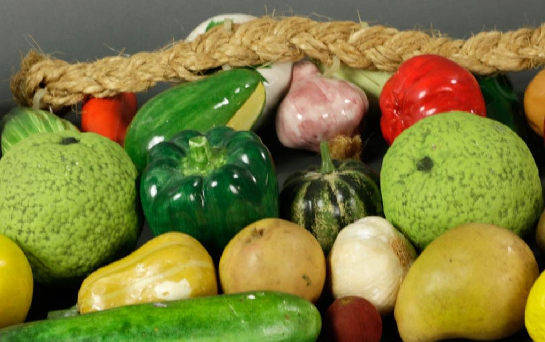 Figural Fruit and Vegetable Collection - 2