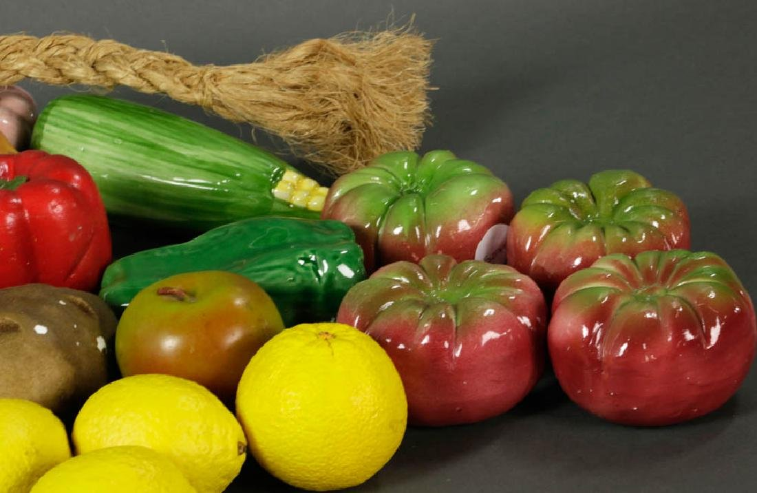 Figural Fruit and Vegetable Collection - 4