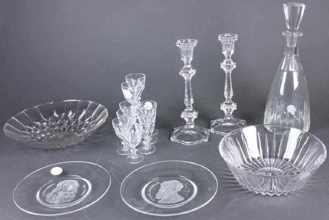 Grouping of Colorless Glass