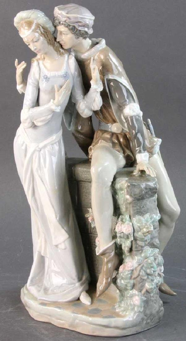 Large Lladro Figure of Courting Couple