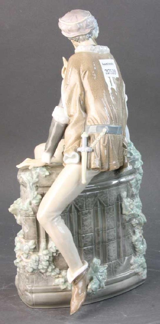 Large Lladro Figure of Courting Couple - 2