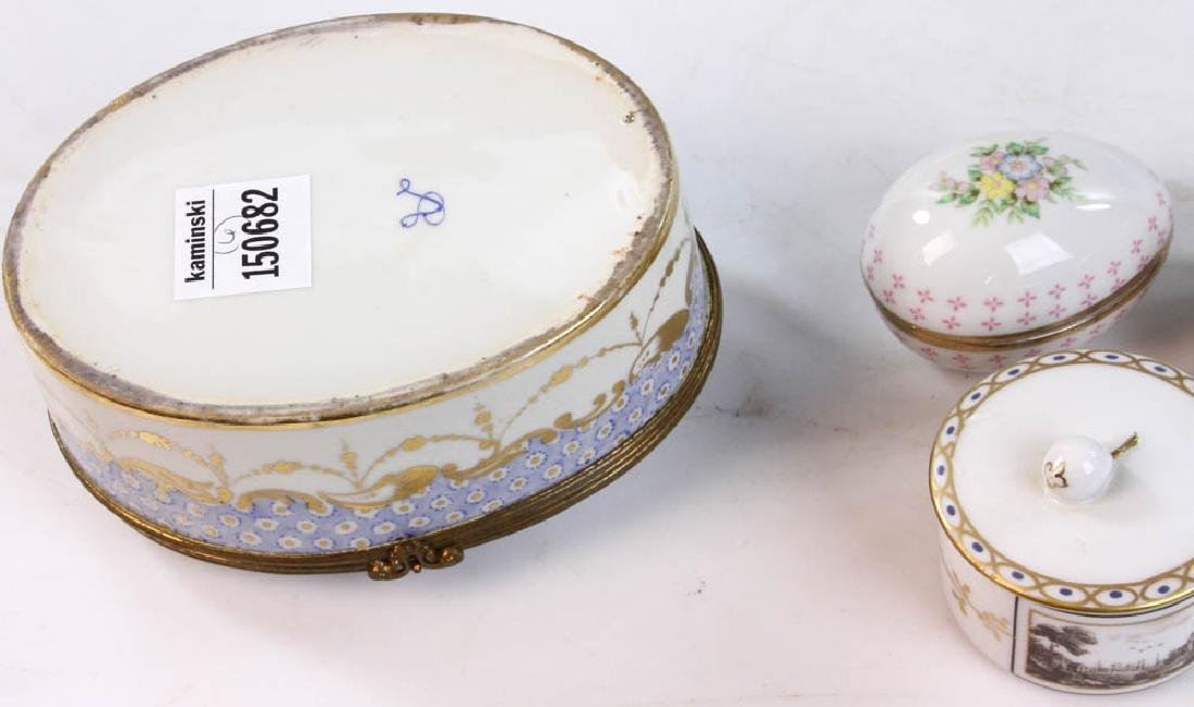 Collection of Covered Boxes - 10