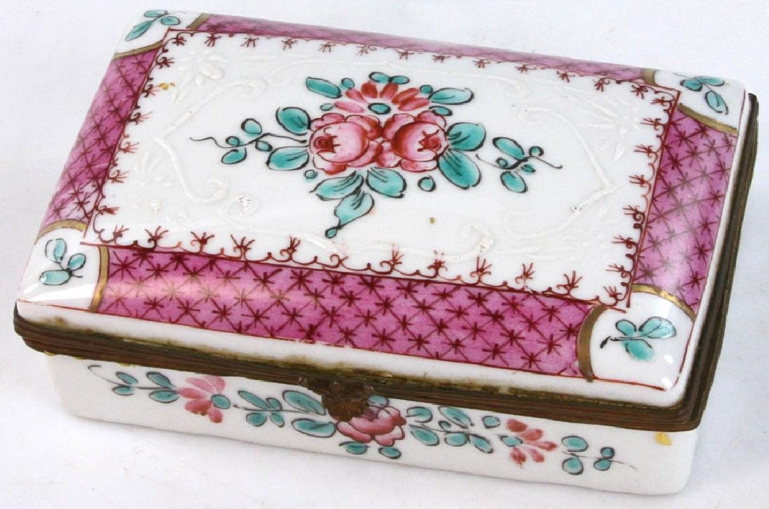 Collection of Covered Boxes - 7