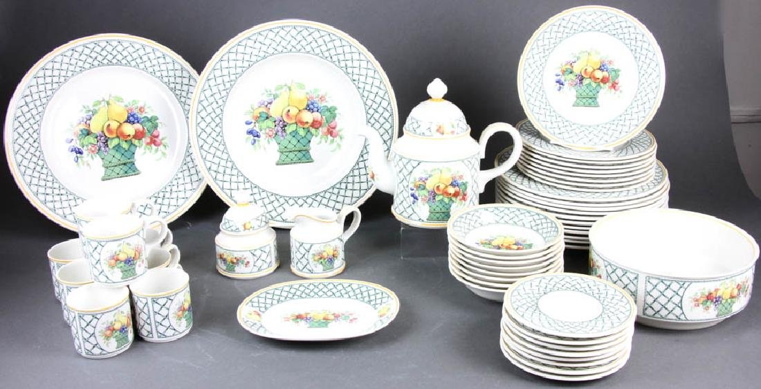 Villeroy & Boch China Basket Pattern
