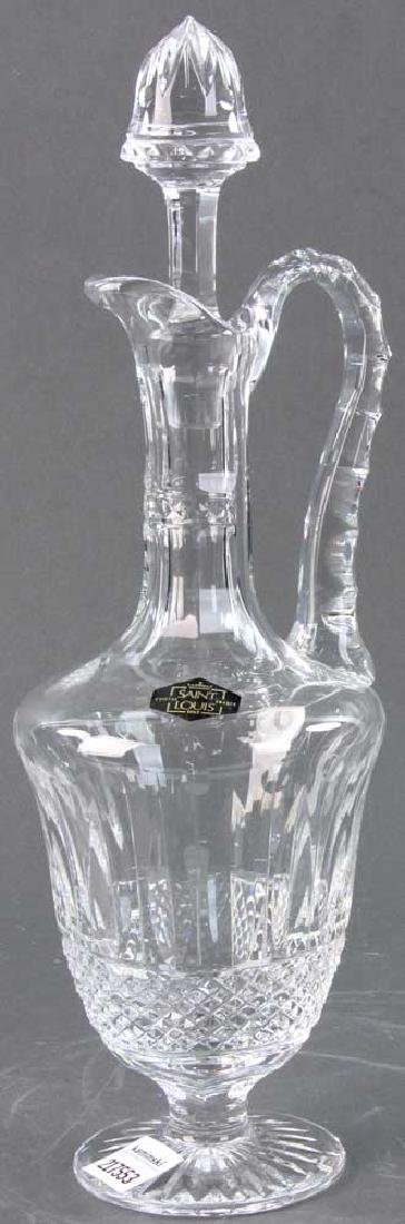Saint Louis Cut Crystal Decanter - 4