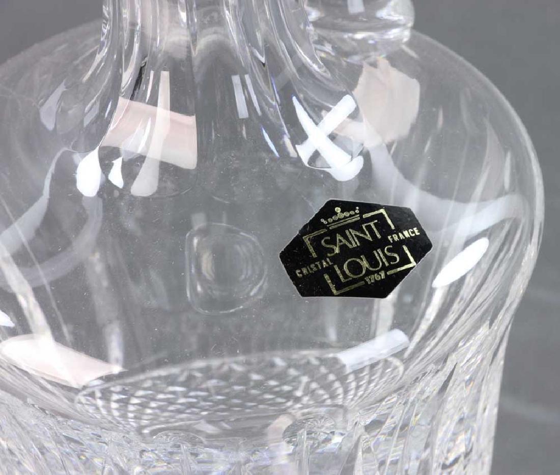 Saint Louis Cut Crystal Decanter - 8