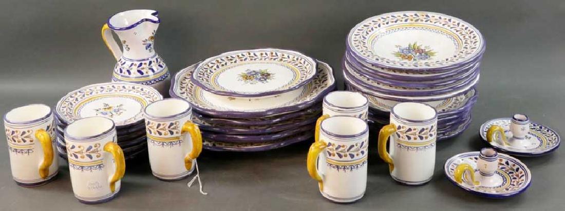 Mexican Talavera Pottery Dinnerware