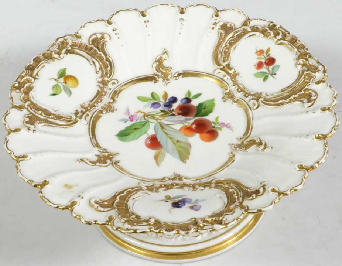 Meissen Hand Decorated Compote