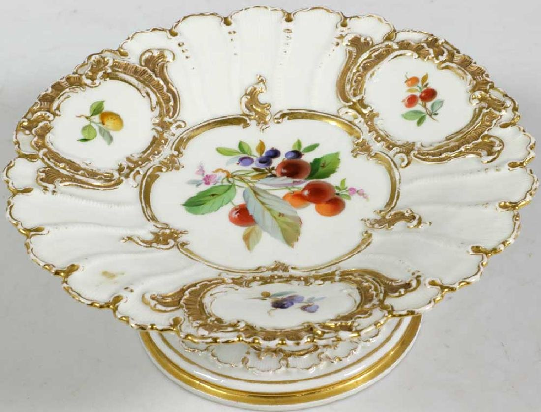 Meissen Hand Decorated Compote - 3