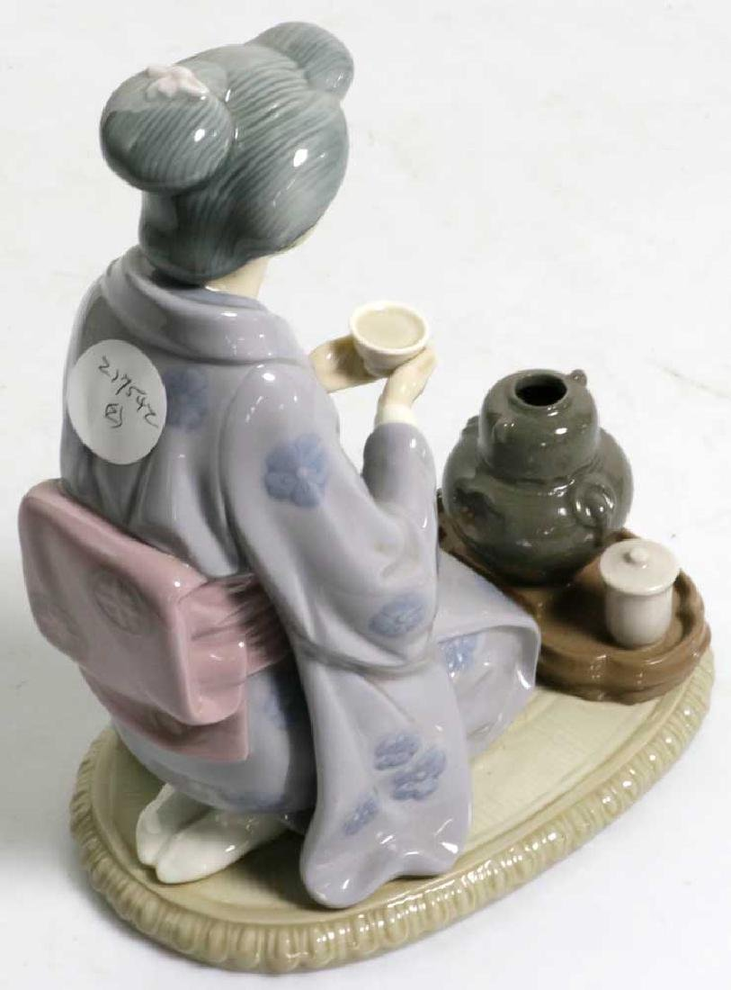 Two Lladro Figures Children and Geisha - 10