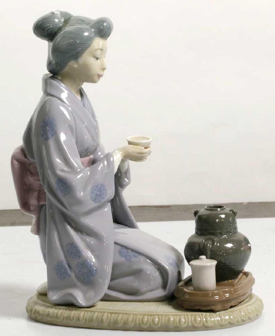 Two Lladro Figures Children and Geisha - 7