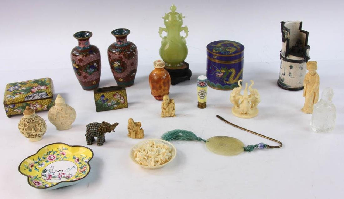 Collection of Small Asian Items
