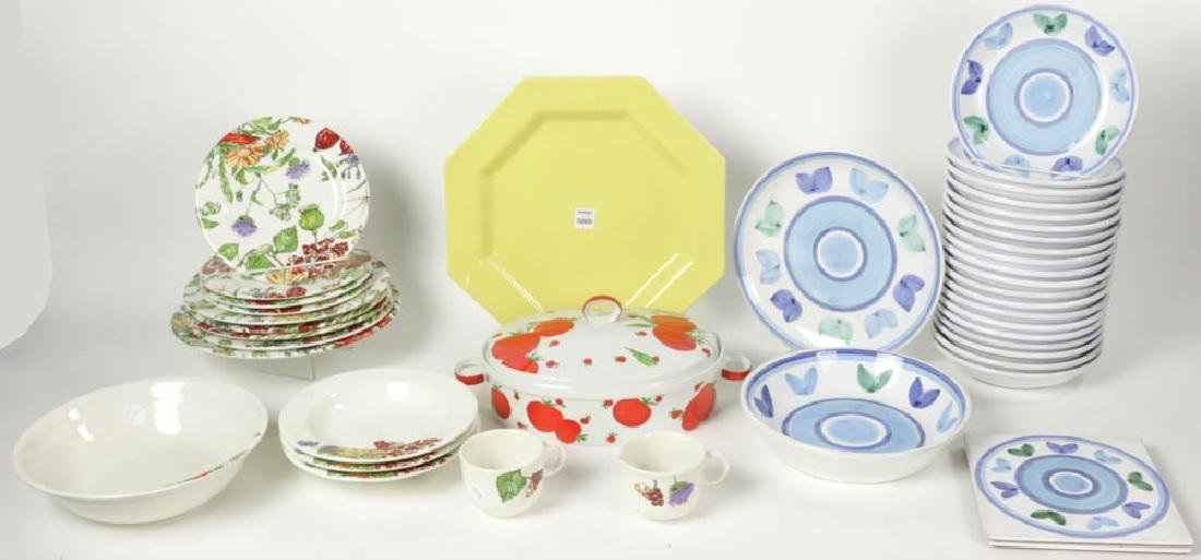 Collection of Contemporary Dinnerware