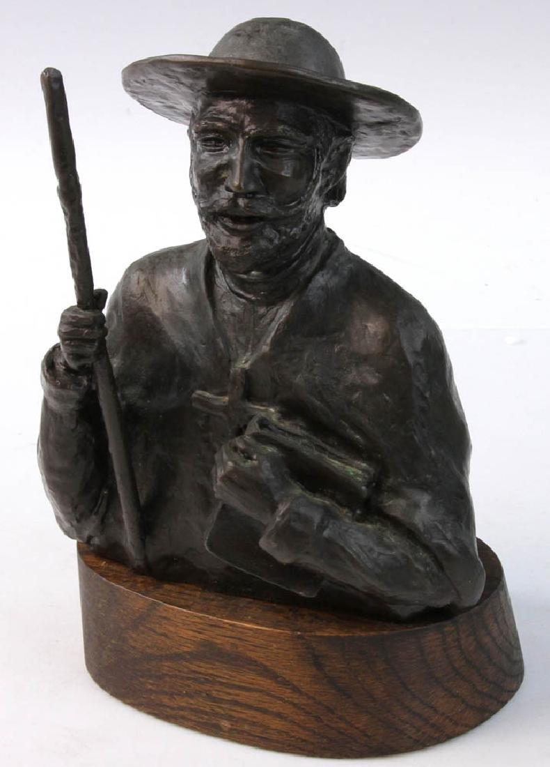 J. Hamilton Bronze Titled LE MISSIONAIRE