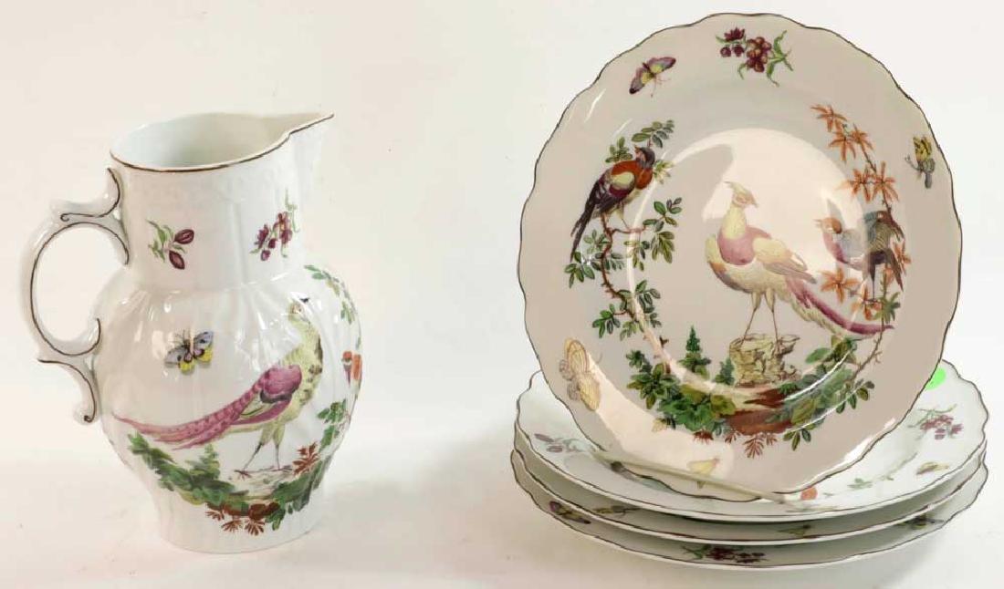 Five Pieces of Mottahedeh Porcelain
