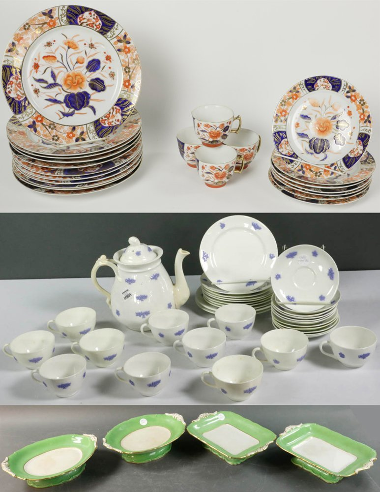 Collection of 19th C. English Porcelains
