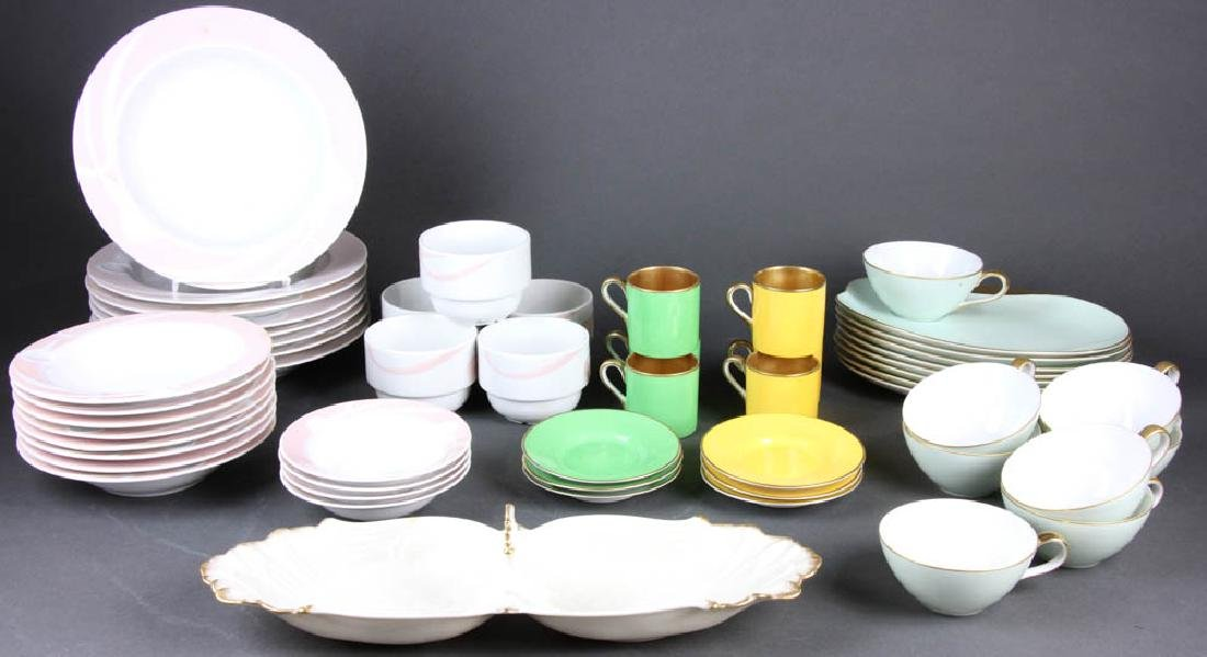 Grouping of Porcelain Tableware