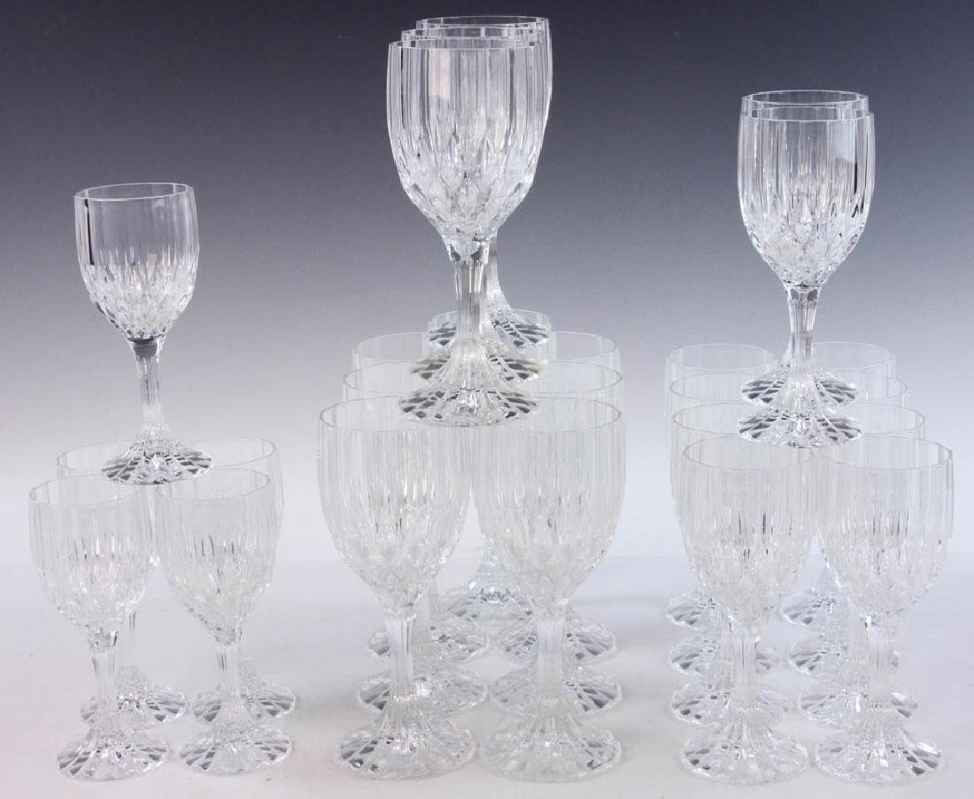 Set of Colorless Glass Stemware