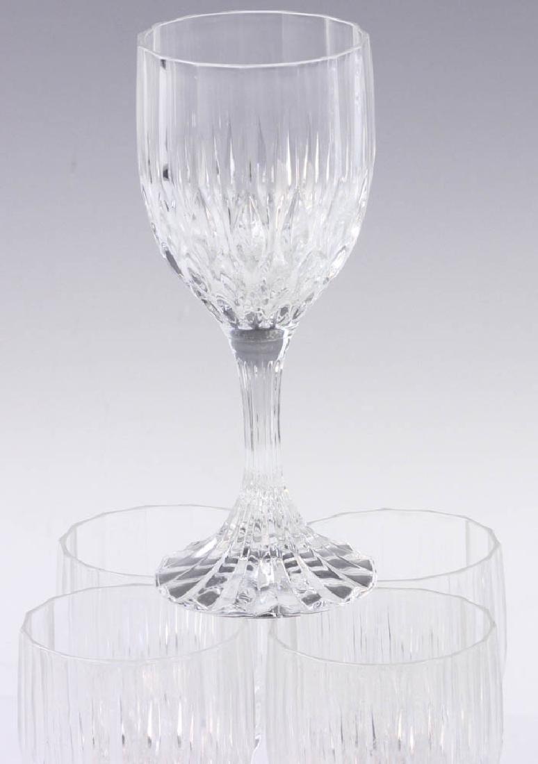 Set of Colorless Glass Stemware - 2