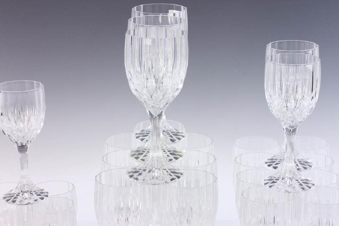 Set of Colorless Glass Stemware - 3