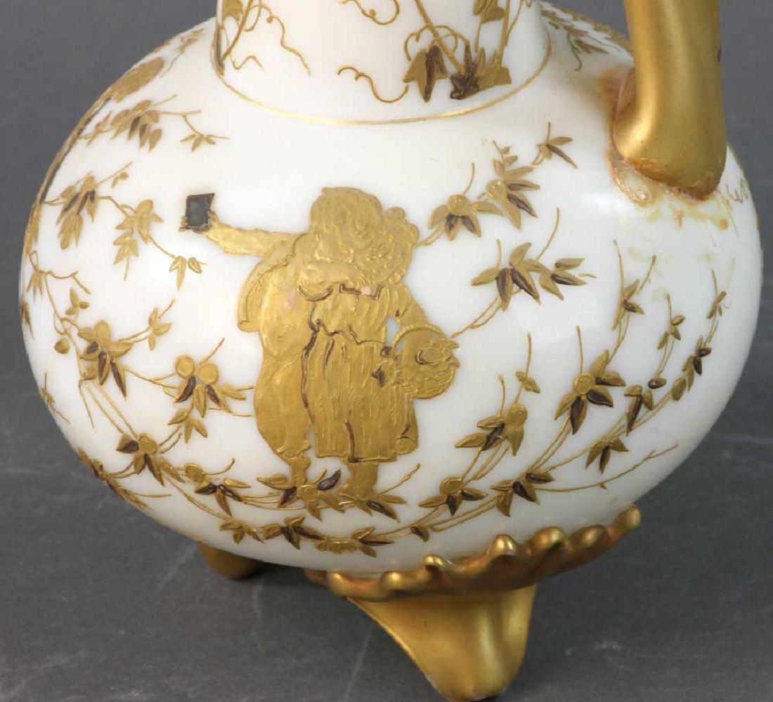 Mt. Washington Crown Milano Vase - 6