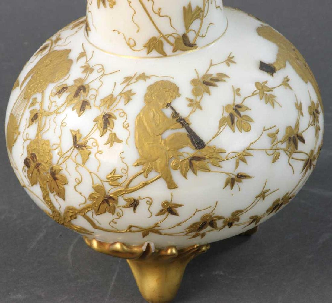 Mt. Washington Crown Milano Vase - 7