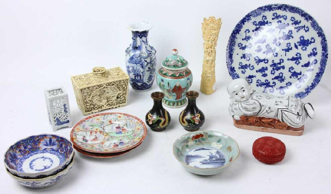 Collection of Asian Decorative Items