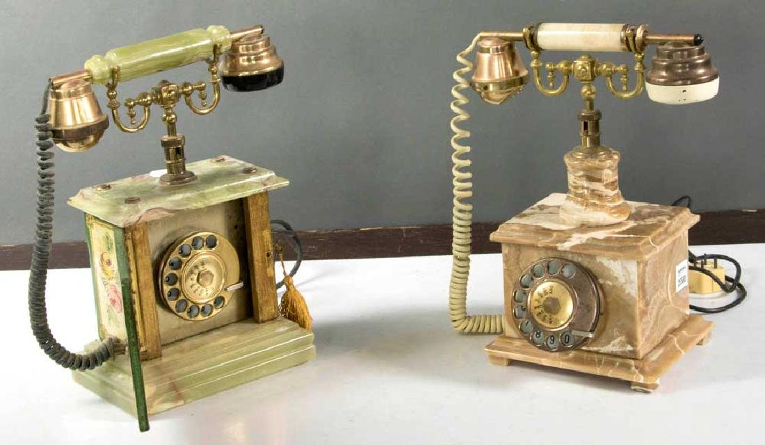 Two Vintage Continental Telephones