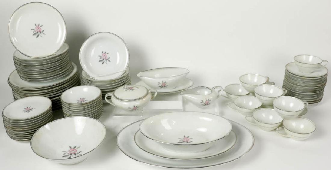 Noritake China Rosales Pattern