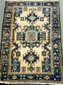178 Two Rugs Persian Hamadan Turkish Prayer