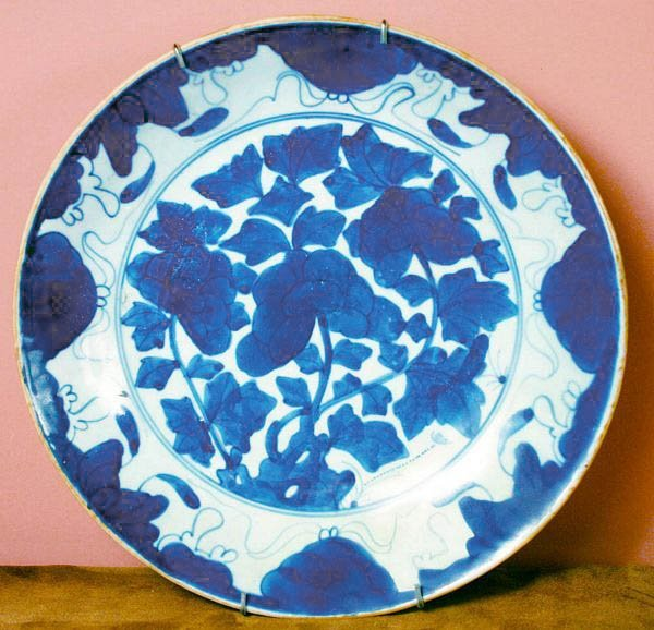 1003: Early Chinese B/W Porcelain Bowl, Possibly Ming