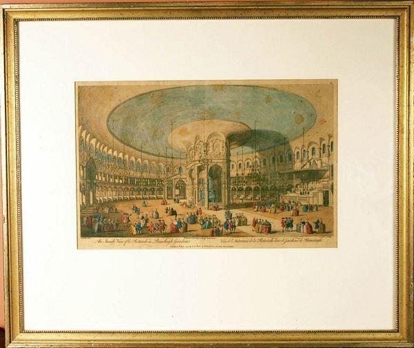 1004: 19th C., Inside View of Ranelagh Gardens, Print