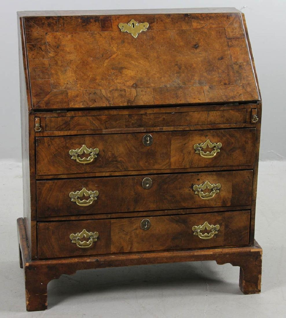 18thC George II Childs Slant Front Desk
