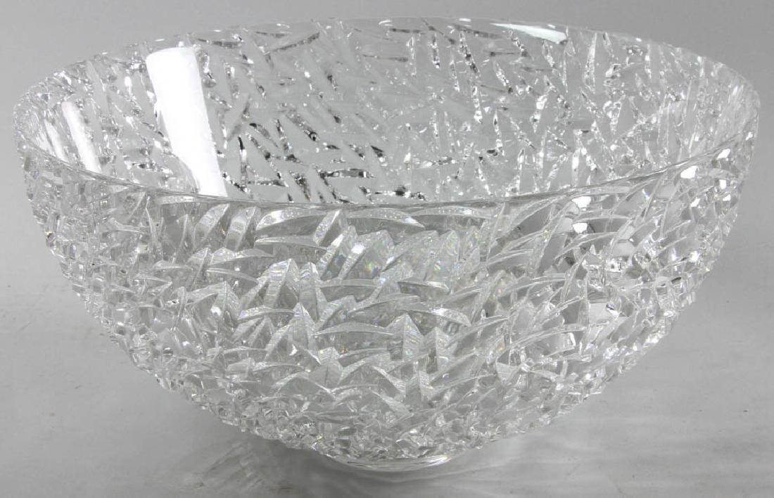 Tiffany & Co. Molded Glass Center Bowl