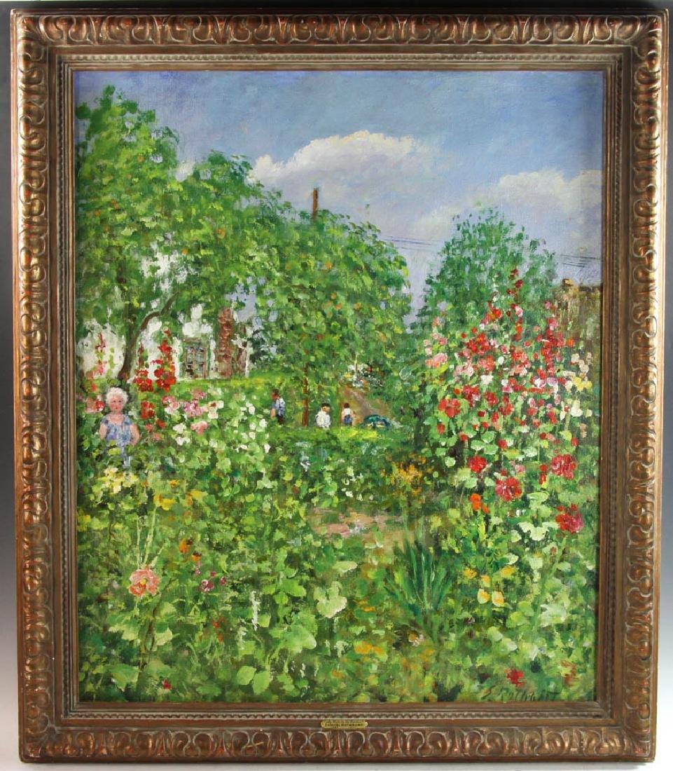 Samuel Rothbort Oil on Canvas