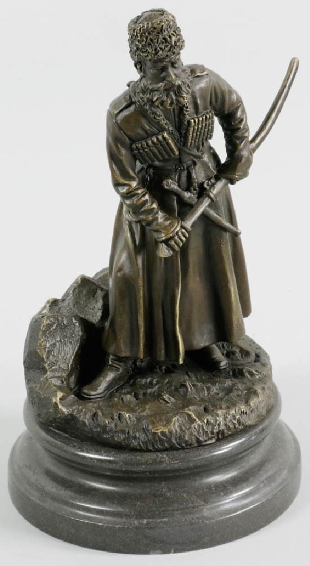 Grachev, Bronze Cossack with Dagger