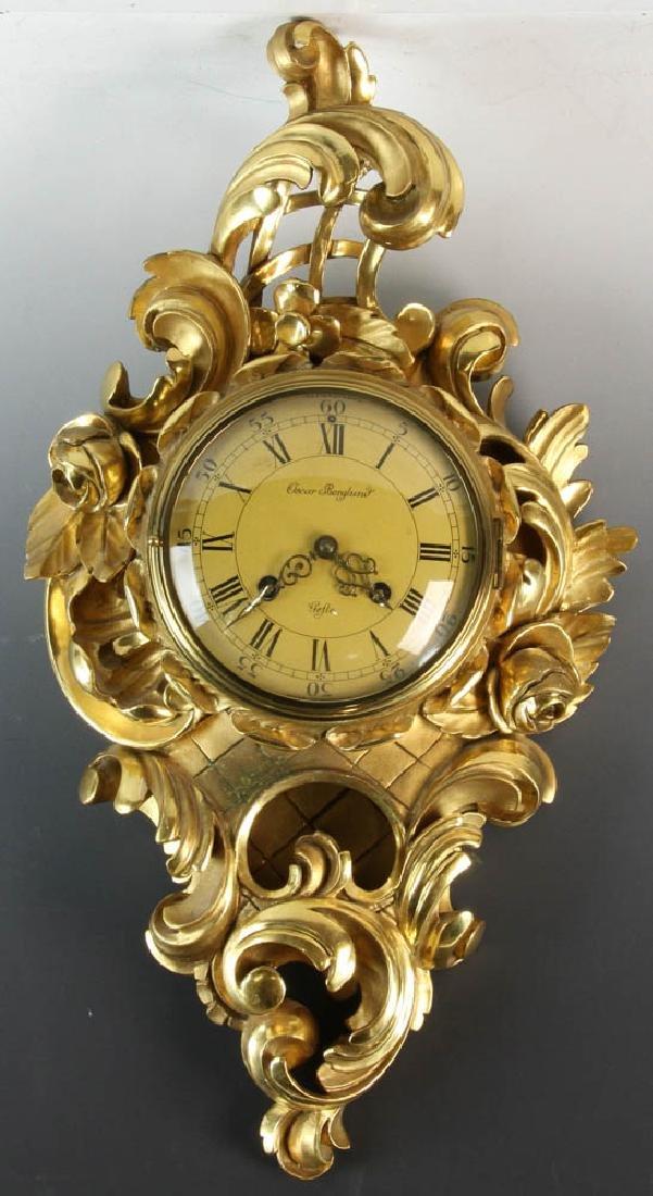 Louis XVI Style Swedish Wall Clock