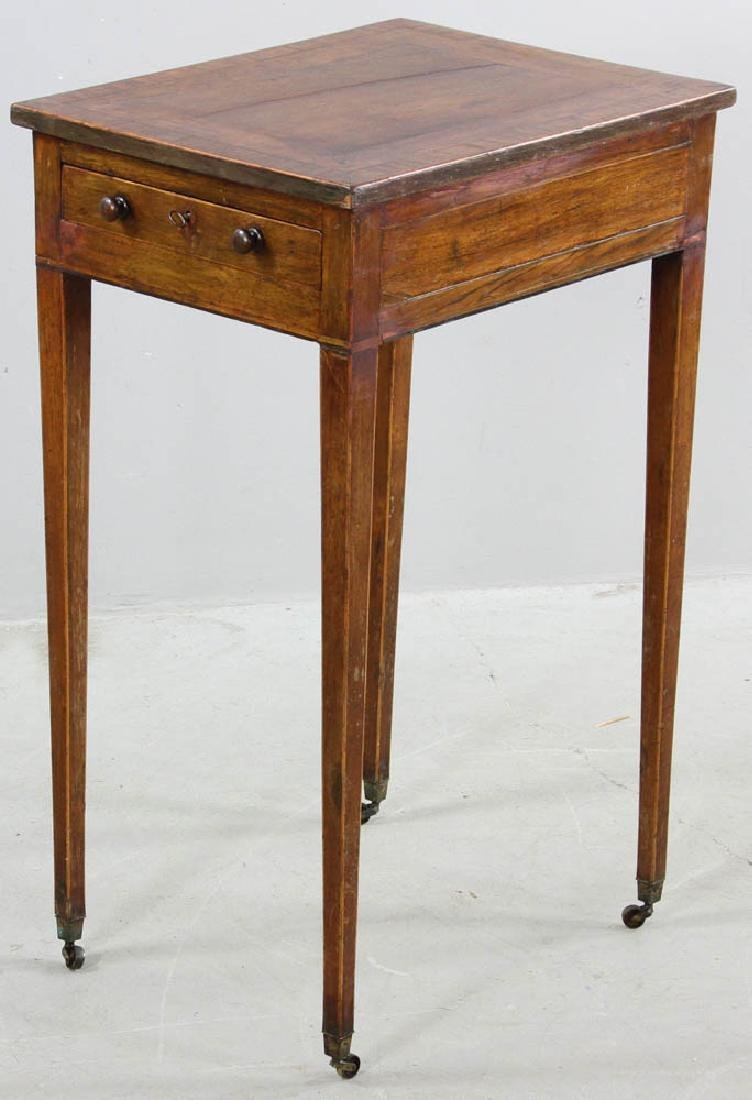 19thC Georgian Mahogany Writing Stand