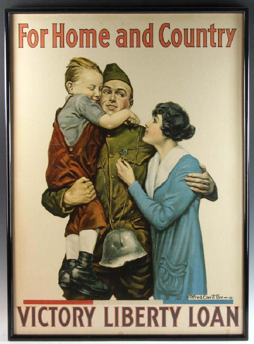 Vintage WWI Poster by Everett
