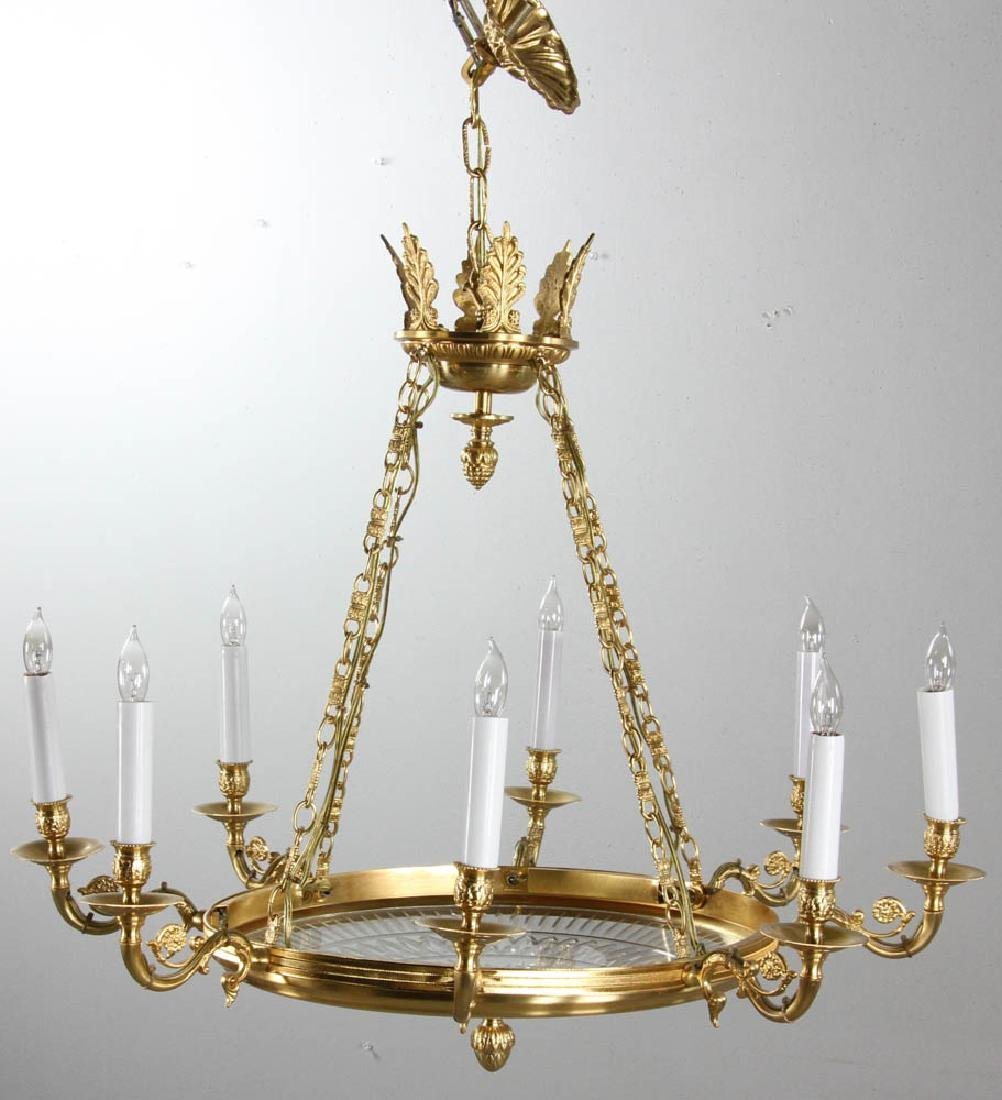 19th C French Empire Style Chandelier