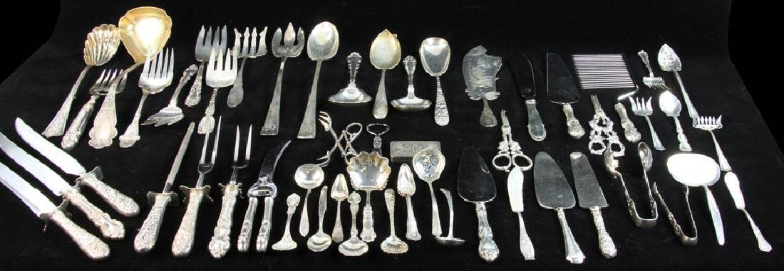 Sterling Flatware and Serving Pieces