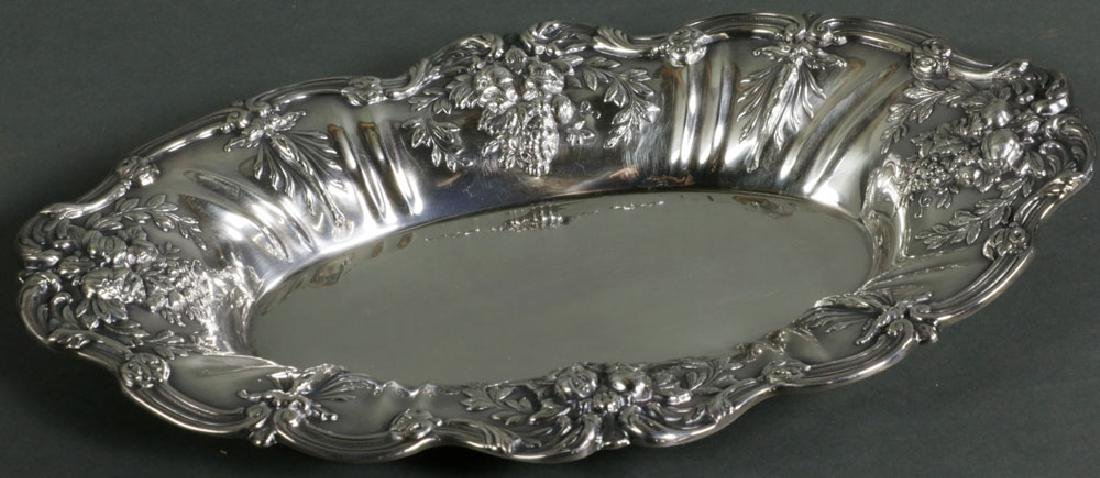 Reed and Barton Sterling Tray Francis 1st