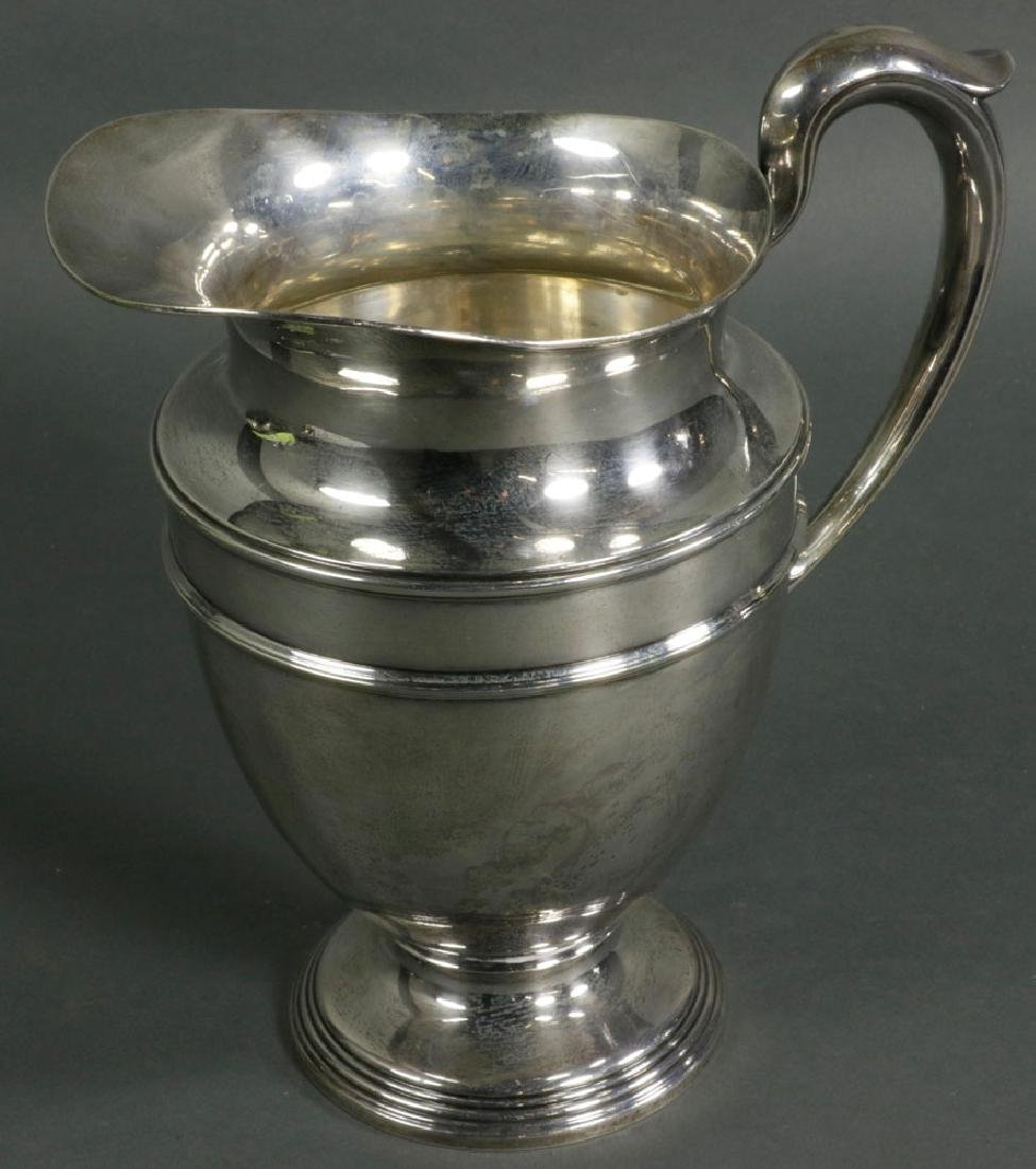 International Sterling Water Pitcher