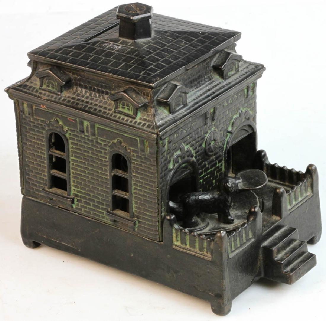 Antique Cast Iron Mechanical Bank