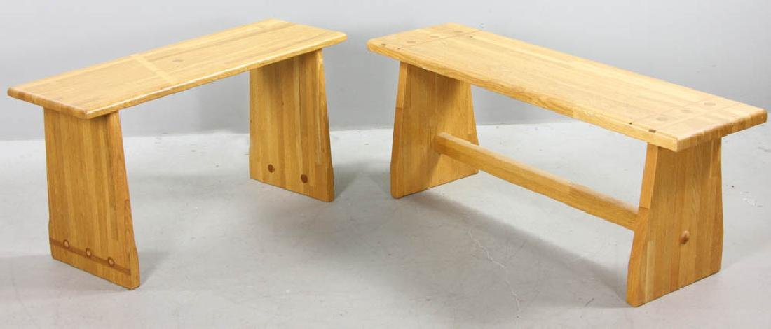 Two Pierce Furniture of Ipswich Benches