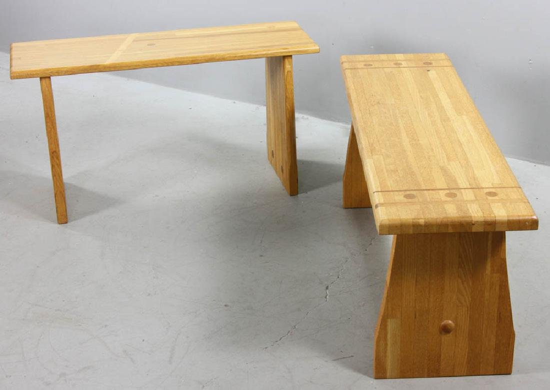 Two Pierce Furniture of Ipswich Benches - 3