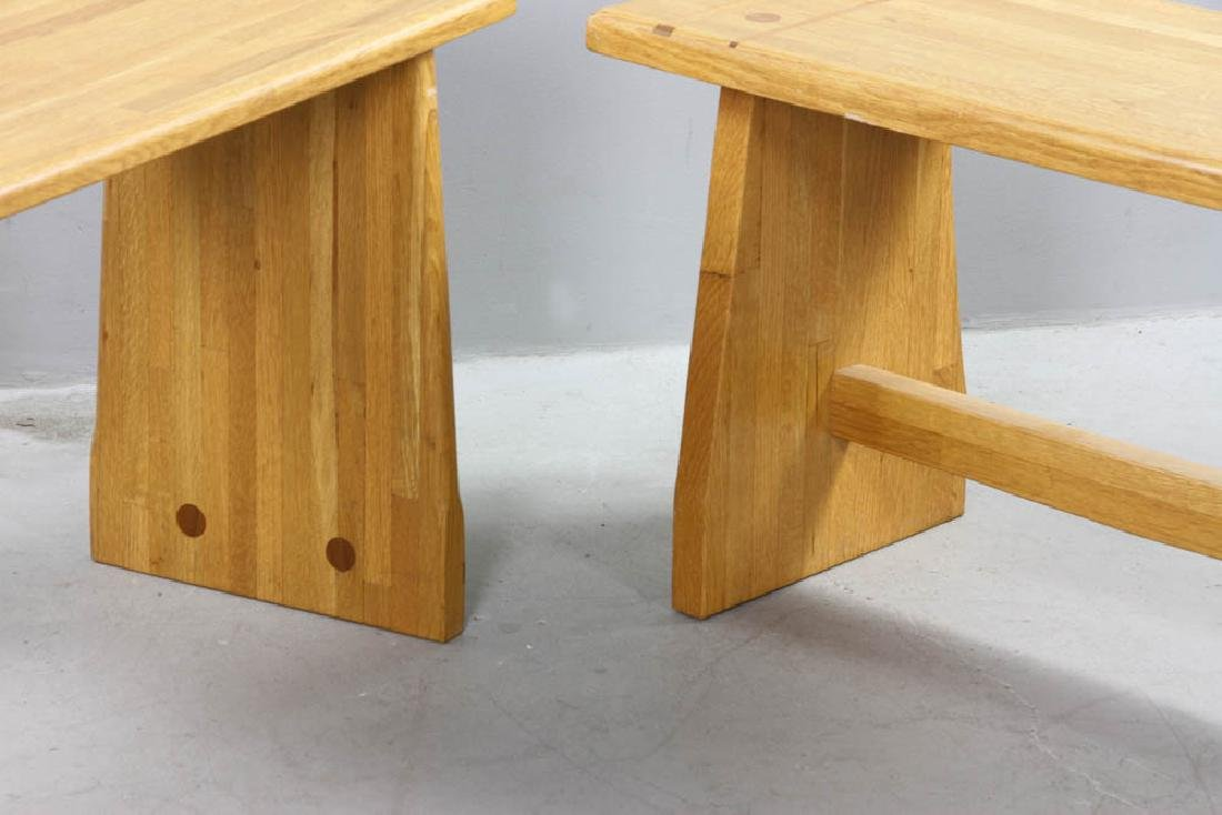 Two Pierce Furniture of Ipswich Benches - 4