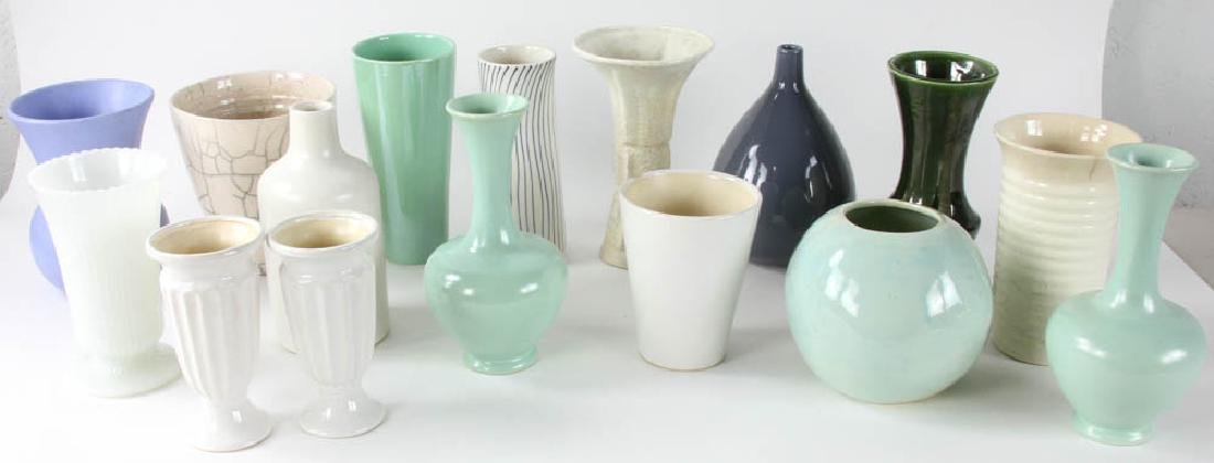 Group of Ceramic Vases