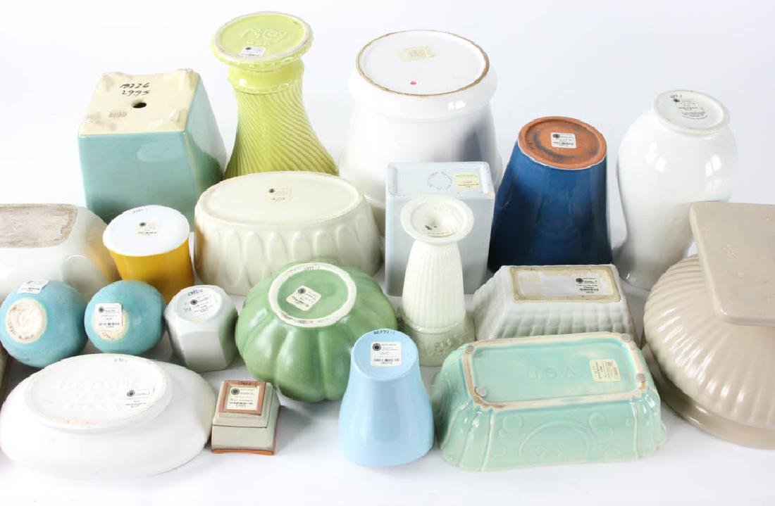 Group of Ceramic Planters and Vases - 2